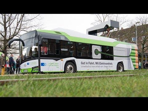 Der Elektrobus in Hannover / Solaris Bus & Coach - neuer Solaris Urbino 12 / Электробус в Германии