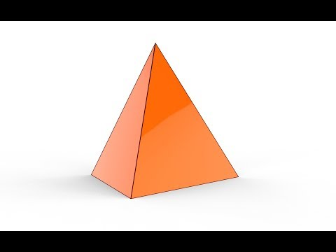 How to make a pyramid in solidworks