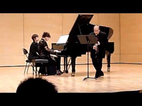 """""""Monk"""" for clarinet and piano by Edward Smaldone"""
