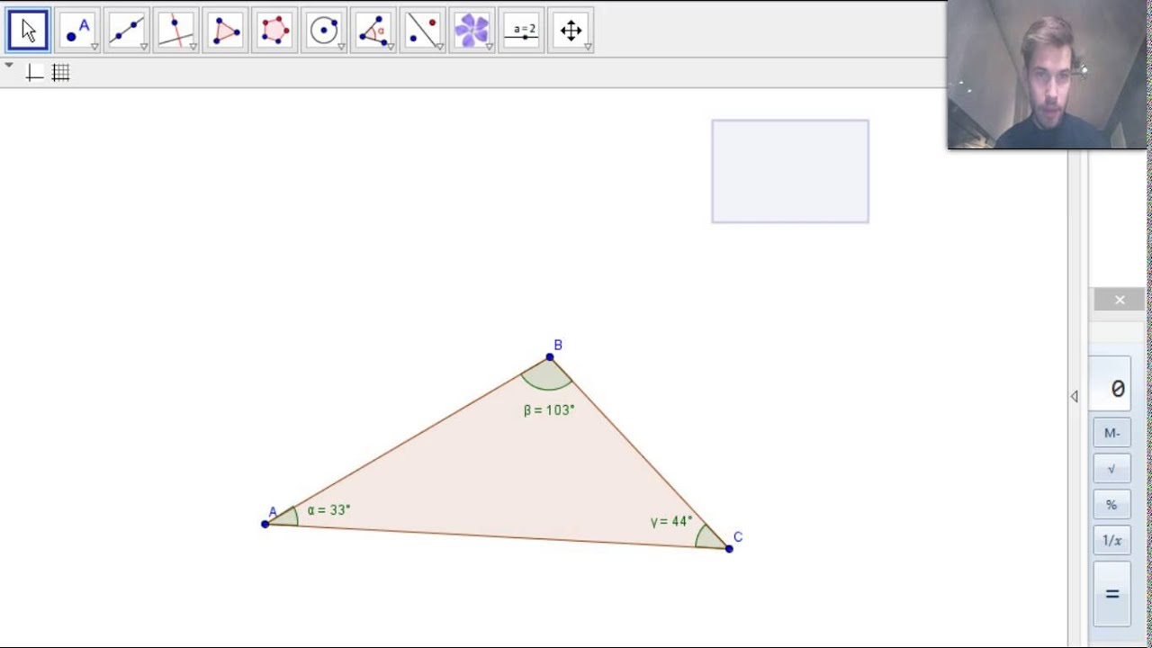 Geometri 5-9 - Vinkelsummen i en trekant