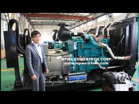 Manufacturing Cummins Diesel Generator Sets In China