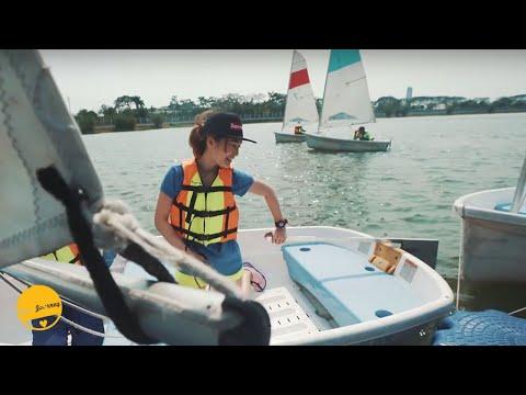 จะรอดมั้ย? ถ้าเล่นเรือใบแบบไร้กัปตันคอยช่วย? | เที่ยวศูนย์กีฬาทางน้ำบึงหนองบอน
