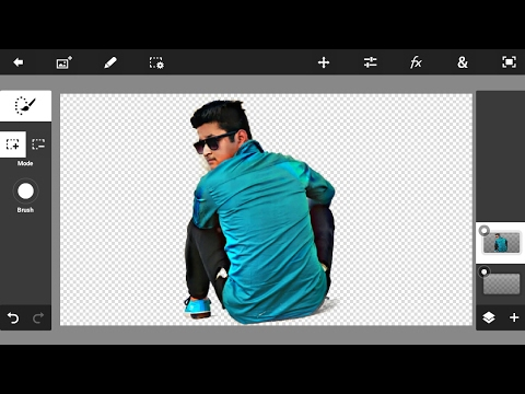 How To Make Perfect Png Using PS TOUCH | Photoshop Touch Editing Tutorial