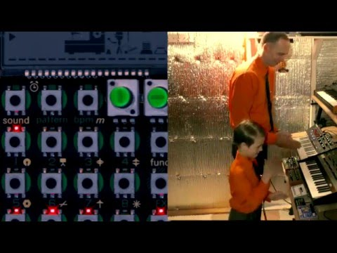 Kraftwerk - The Robots (Andrew and Hudson cover)