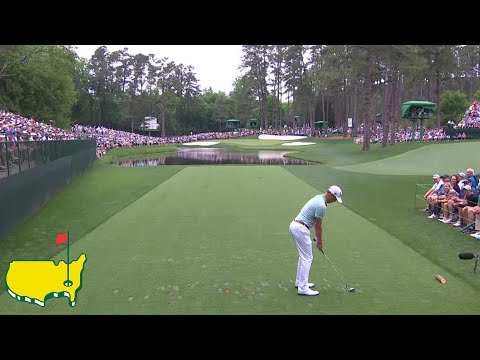 None - Justin Thomas Aces 16th Hole At Augusta National