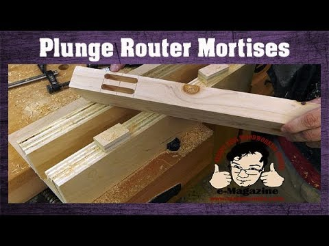 Check out this cheap router mortising jig with LOTS of versatility
