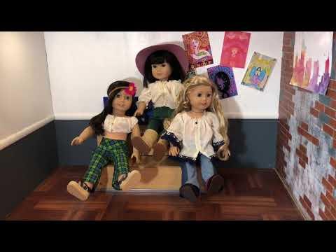 American Girl Dollhouse Tour 2018