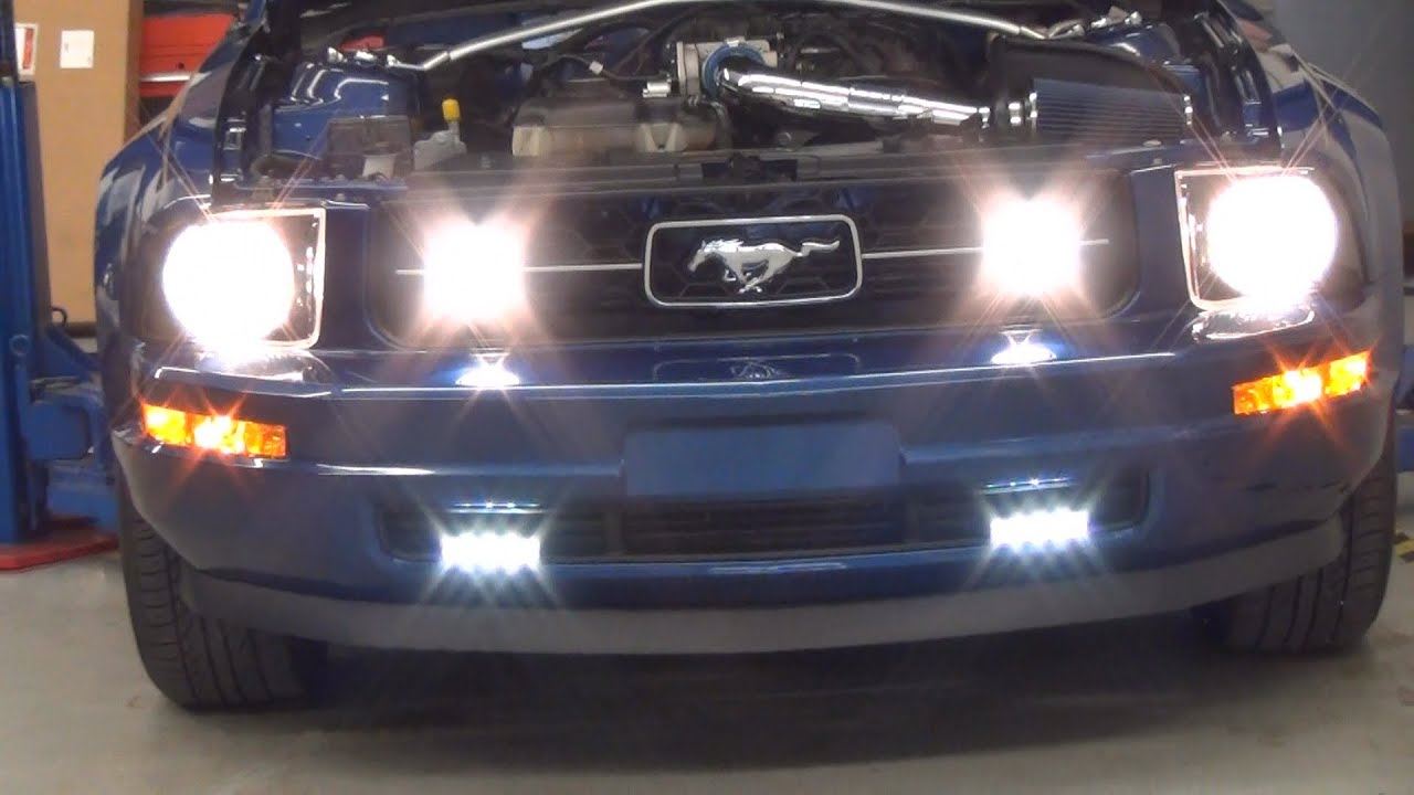 Philips Daylight 4 2007 Ford Mustang Philips Led