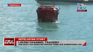 Likoni Ferry: Kenya Navy retrieve car that plunged into Indain Ocean
