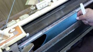 Окат рукава-knitting machine