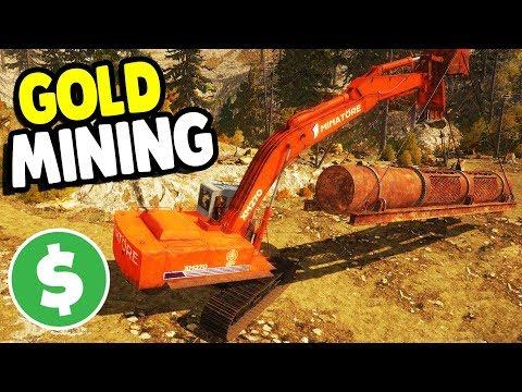 BIGGEST MINING MACHINE BUILT | Gold Rush: The Game Gameplay