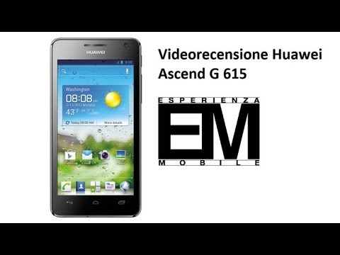 Huawei Ascend G615 recensione ita da EsperienzaMobile