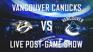 Canucks vs Predators Post-Game Show (Jan. 26, 2016) thumbnail