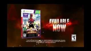 Power Rangers Super Samurai on Kinect for XBOX 360 - Release Trailer !!
