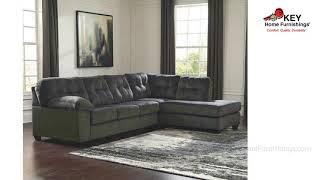 Ashley Accrington 2 Piece Sleeper Sectional 70509R2S | KEY Home