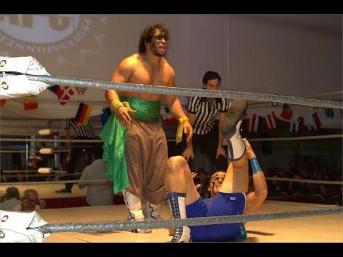 Al Jihan vs Maui ouverture 2013 par Nadir RUNNELS Tunisie Sahara APC Catch Wrestling