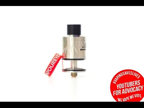 Glacier Gen 3 from Vaperz Cloud Review + Wicking Tutorial - The Vaping Bogan