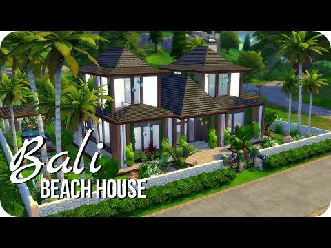 Sims 4 House Building | Bali Beach House | Collab w/ Thomas TV