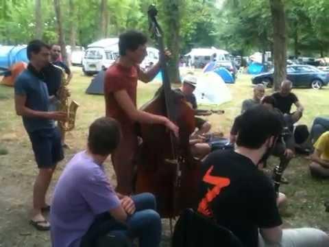 Django Reinhardt Festival 2014 - Camping Petit Barbeau - Long Overview