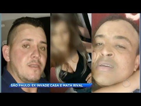 Homem invade casa da ex-mulher e mata o rival
