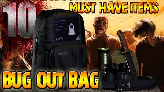 10 MUST HAVE items for your BUG OUT BAG - Zombie Survival Guide