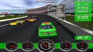 NASCAR Revolution (PC) Race #15 Gameplay (Bobby Labonte) (Atlanta) (9 Laps)