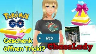 Geschenk öffnen Trick?! + Server down + Celebi? + neues T-Shirt - Pokémon GO deutsch
