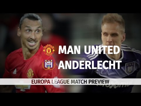 Manchester United v Anderlecht - Europa League Match Preview