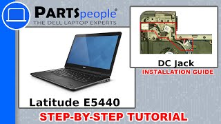 Dell Latitude E5440 DC Jack How-To Video Tutorial