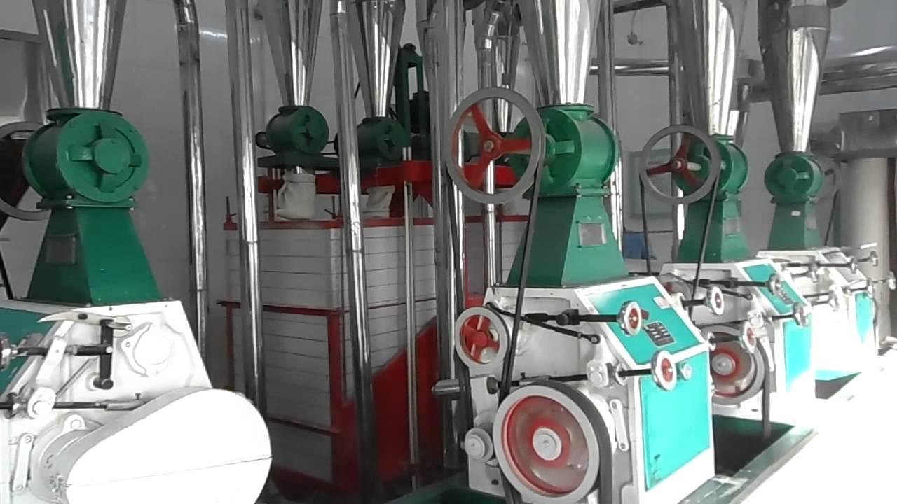 Machine de traitement de bl et fabrication de farine chine youtube - Machine de fabrication de couette ...