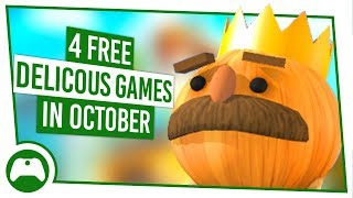 4 FREE Delicious Xbox Games For October!