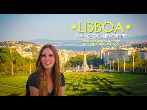 LISBOA | In chiesa senza il tetto e a cena in farmacia! | A Magical Adventure #3 | ENG subs |