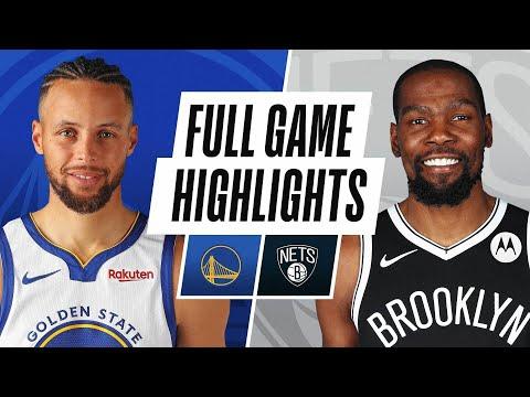 Game Recap: Nets 125, Warriors 99