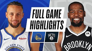 Game Recap: Nets 125, Warriors 99