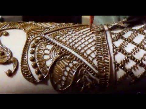 Peacock Henna Bridal Mehendi Design By MehndiArtistica/simple Mehandi Art