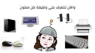 التعرف على مكونات الحاسوب الاساسية ووظائفها Youtube