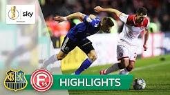 1. FC Saarbrücken - Fortuna Düsseldorf | Highlights - DFB-Pokal 2019/20 | Viertelfinale