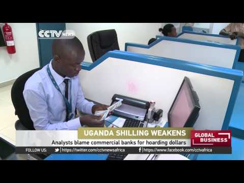 Uganda shilling weakens against dollar & other currencies