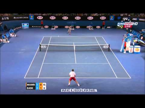 Novak Djokovic Vs stanislas Wawrinka Australian Open 2014 HIGHLIGHTS QF FULL HD PART 1