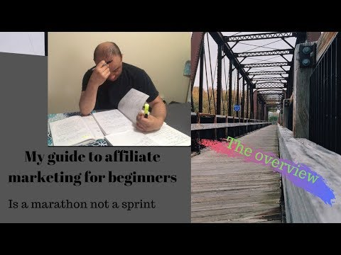 My affiliate marketing guide for beginners (2019) Video 1 Overview