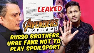 'Avengers: Endgame' Footage Leaks, Russo Brothers Urge Fans Not To Play Spoilsport