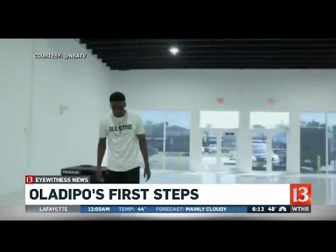 Oladipo's first steps