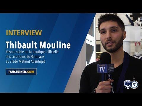 Rencontre Avec Thibault Mouline à La Boutique Des Girondins Au Matmut Atlantique
