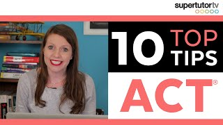 ACT® Tips and Tricks! 10 Strategies to CRUSH the test!
