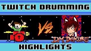 DM DOKURO - Reality Check Through The Skull (Blind Drum Challenge) -- The8BitDrummer