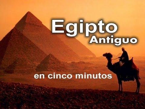 El antiguo Egipto en sólo 5 minutos