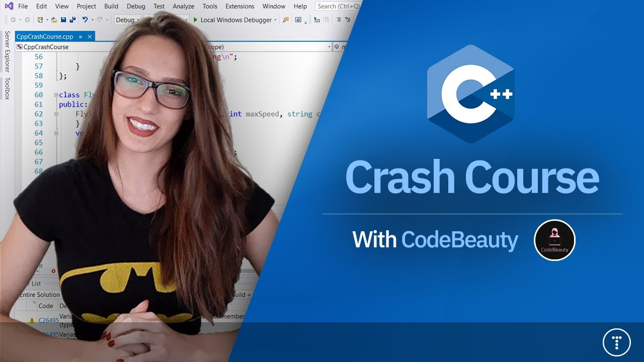 C++ Crash Course For Beginners