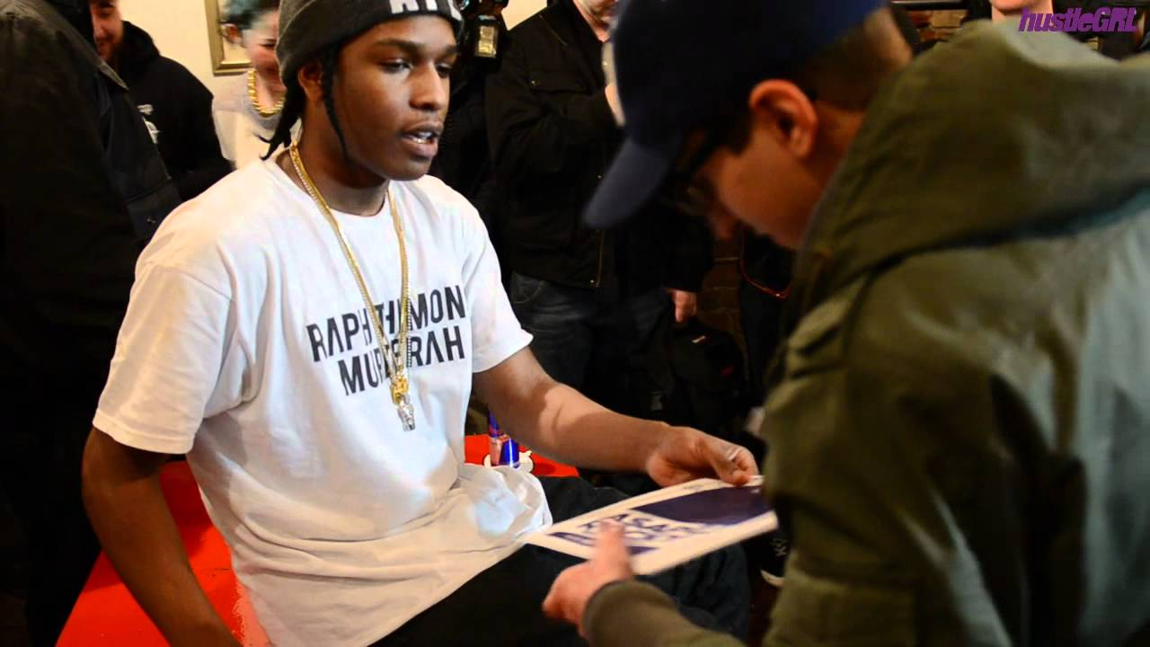 Hustlegrl presents asap rocky meet greet in toronto youtube kristyandbryce Images