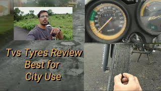 TVS Tyre l Review for your 100 cc bike l