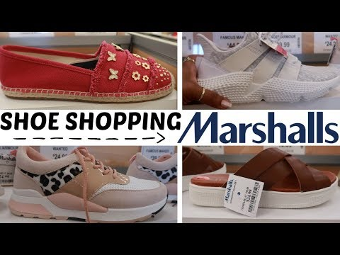 MARSHALLS SHOE SHOPPING!!! SHOP WITH ME